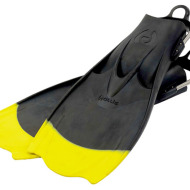 Hollis F-1 Fin Yellow Tip