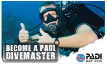 PADI Divemaster Scuba Lessons