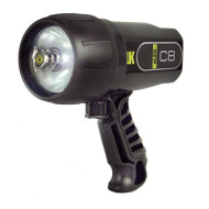 UK C8 dive light in black
