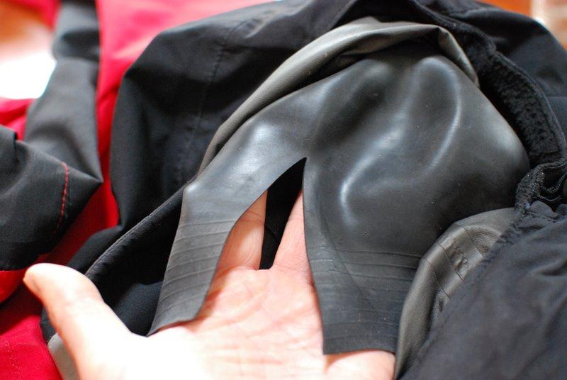 drysuit seal repair