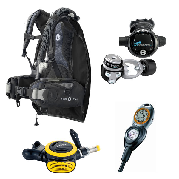 Aqualung Travel Light Package