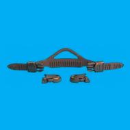 quick release fin strap