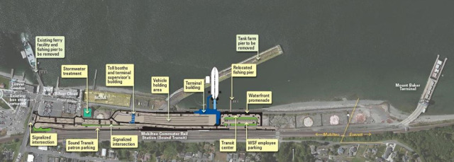 Mukilteo Dive Park Waterfront Plans