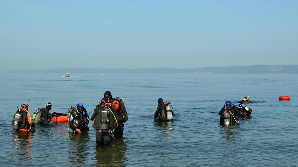 UWS Open Water Dives