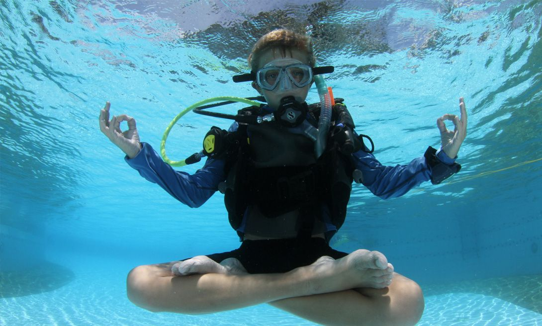 Find Peace Underwater
